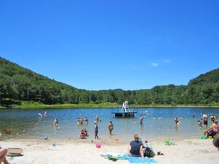 Belleayre Beach at Pine Hill Lake: Paradise!